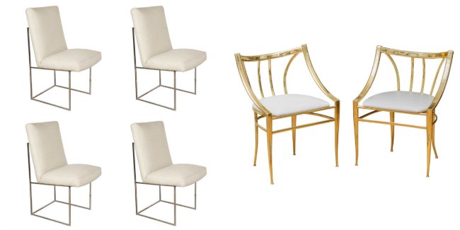 MID CENTURY CHAIRS BROOKE EVA